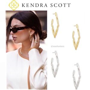 KENDRA SCOTT RYLAN HOOP EARRINGS